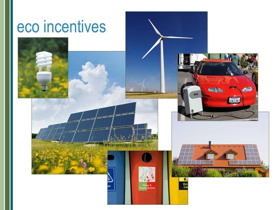 eco incentives