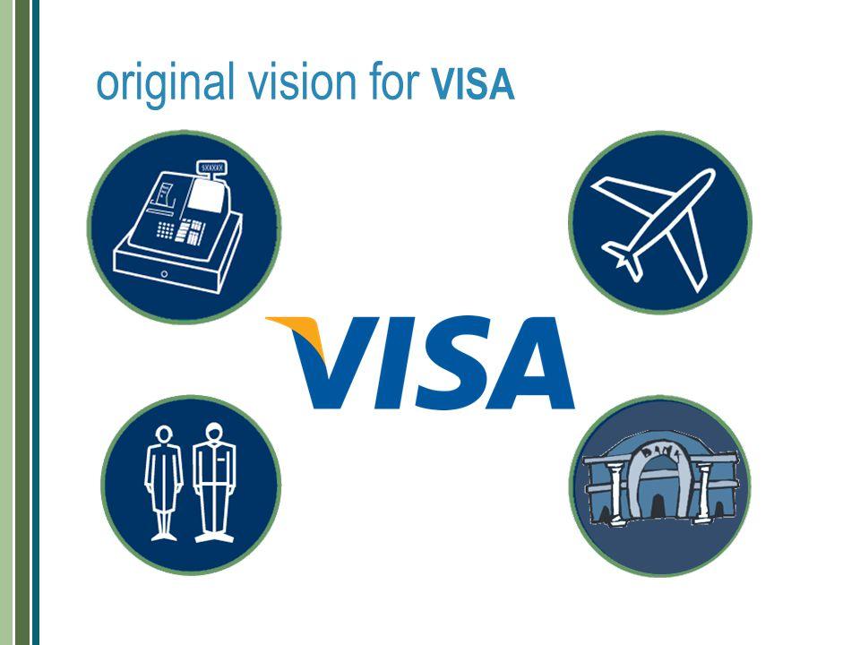 original vision for VISA