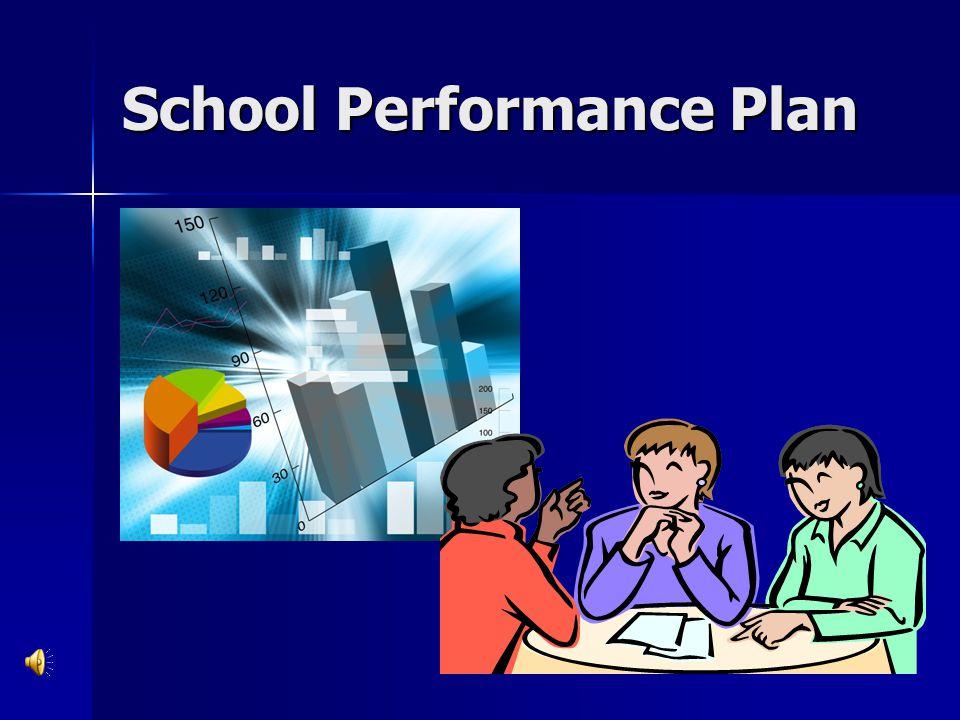 School Performance Plan