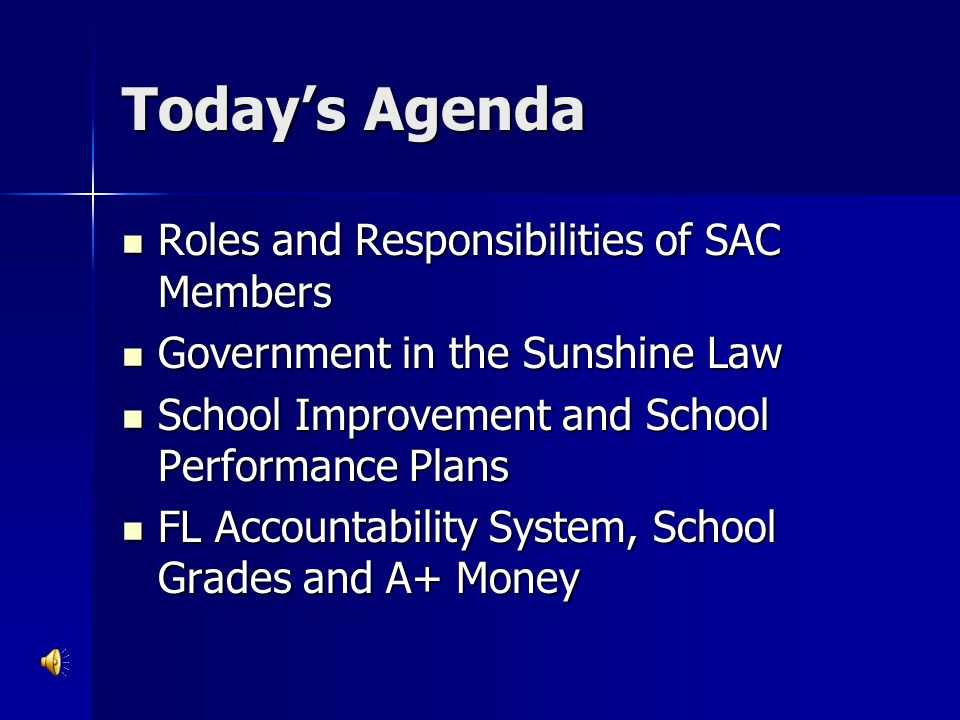 What is a SAC.