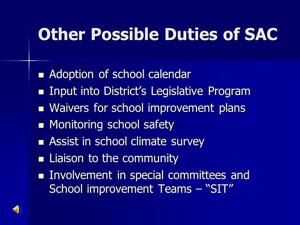 School Accountability Reporting
