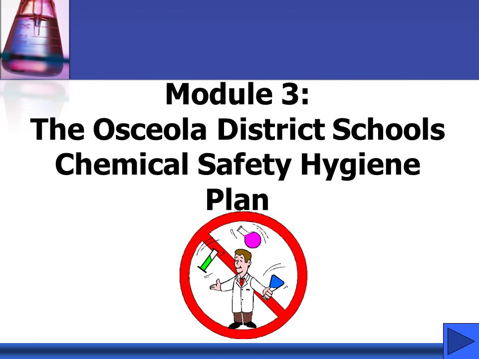 Why have a Chemical Hygiene Plan.