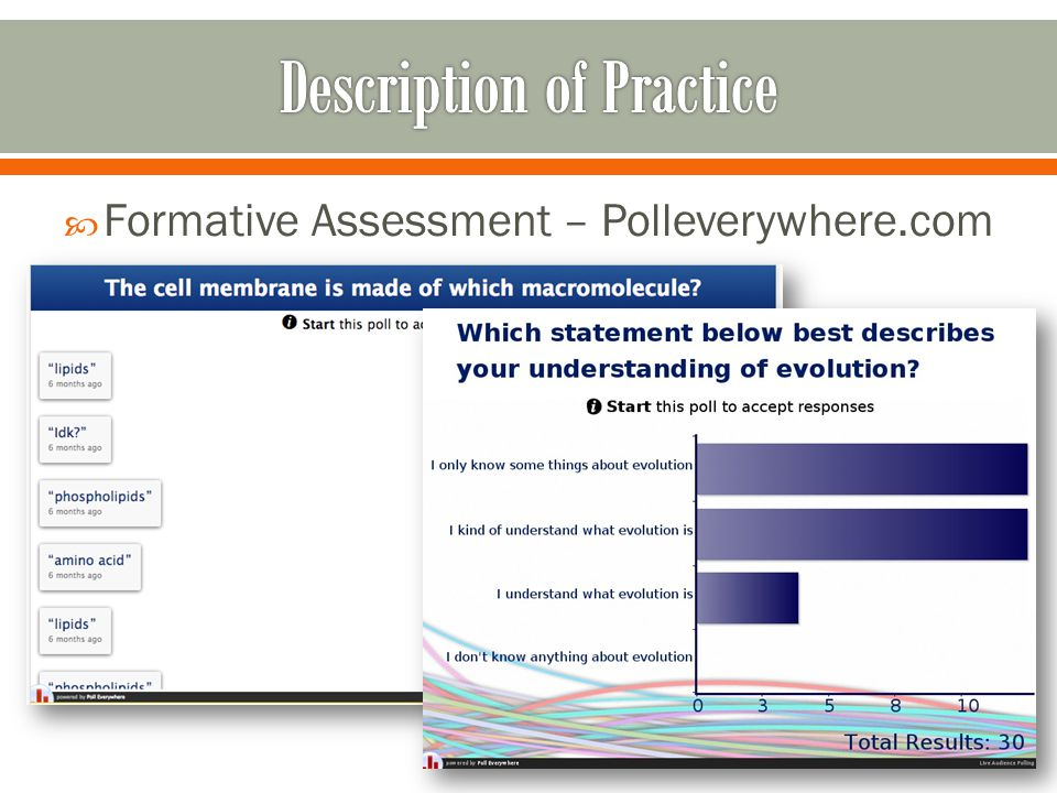  Formative Assessment – Polleverywhere.com