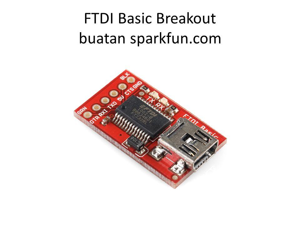 FTDI Basic Breakout buatan sparkfun.com