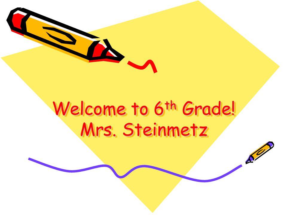 Back to School Night Dorothy Steinmetz, 12 th teaching year; 8 th year at Deer Canyon.