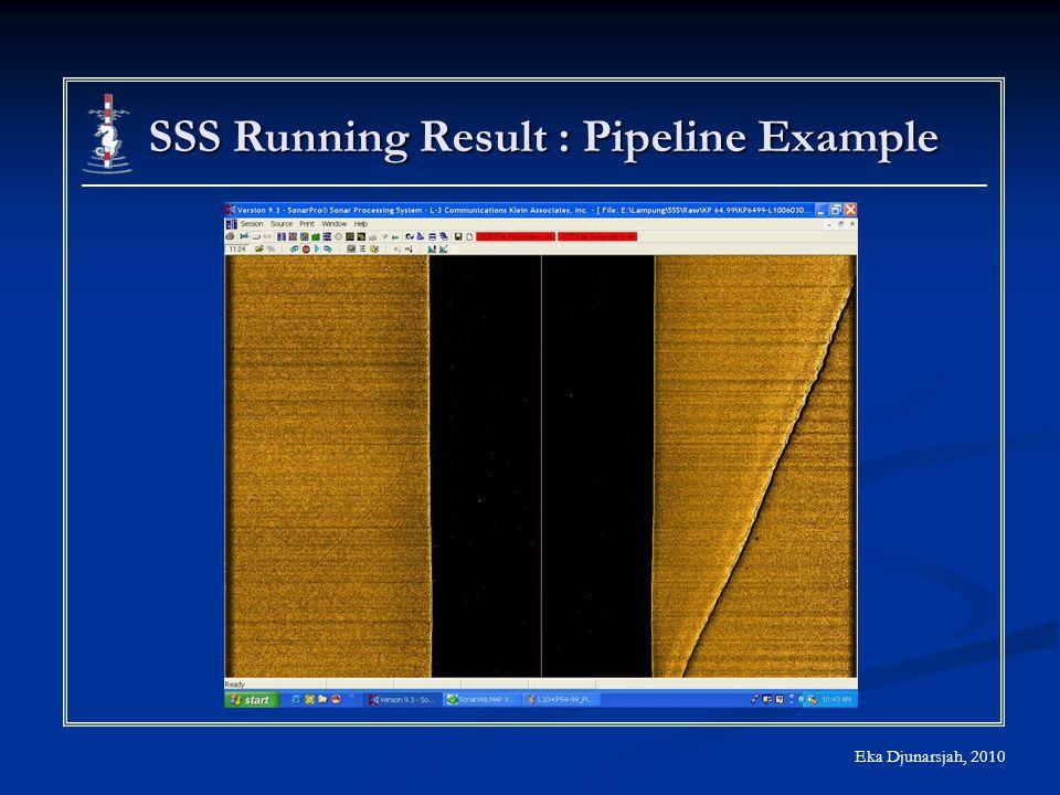 Eka Djunarsjah, 2010 SSS Running Result : Pipeline Example