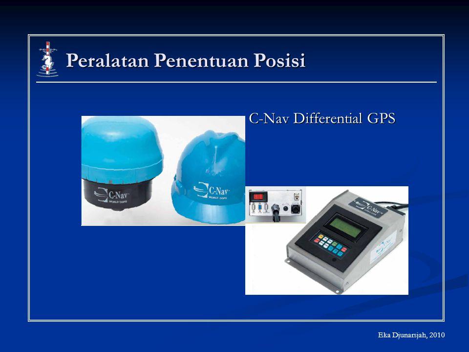 Eka Djunarsjah, 2010 Peralatan Penentuan Posisi C-Nav Differential GPS