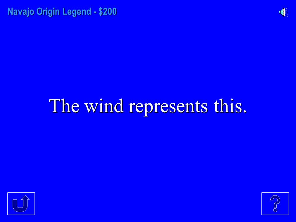 Navajo Origin Legend - $100 The Native Origin Legend explains the beginning of...
