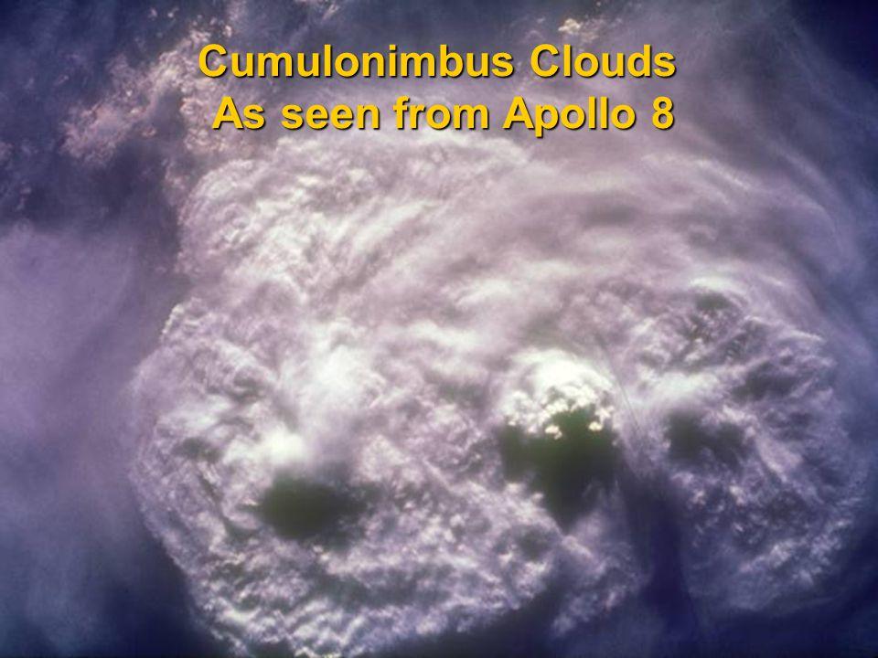 Cloud Type by Rain  Finally, we can classify them based on the presence of rain  Nimbus: any cloud that rains Cumulonimbus: taller, towering version