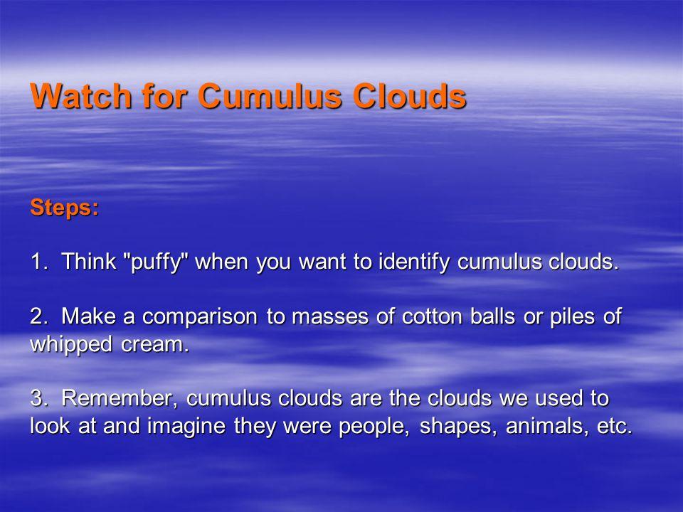 Cumulonimbus Clouds As seen from Apollo 8