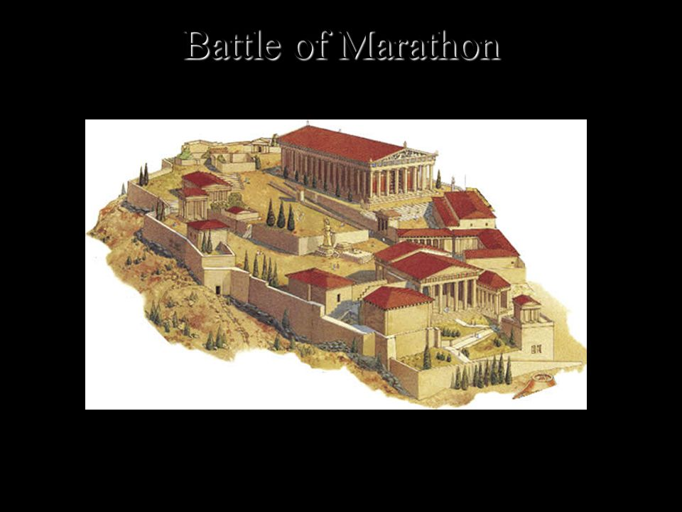 Battle of Marathon The Athenians had won at Marathon but they certainly had not destroyed the Persian army. They had made plans before the battle that