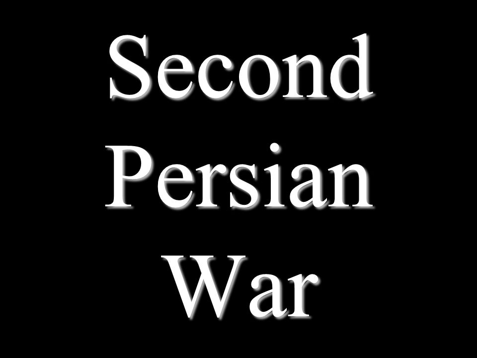 Second Persian War