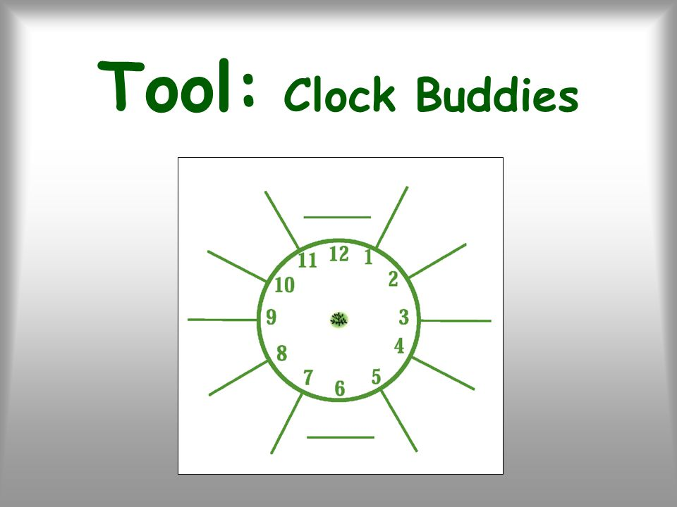 Tool: Clock Buddies
