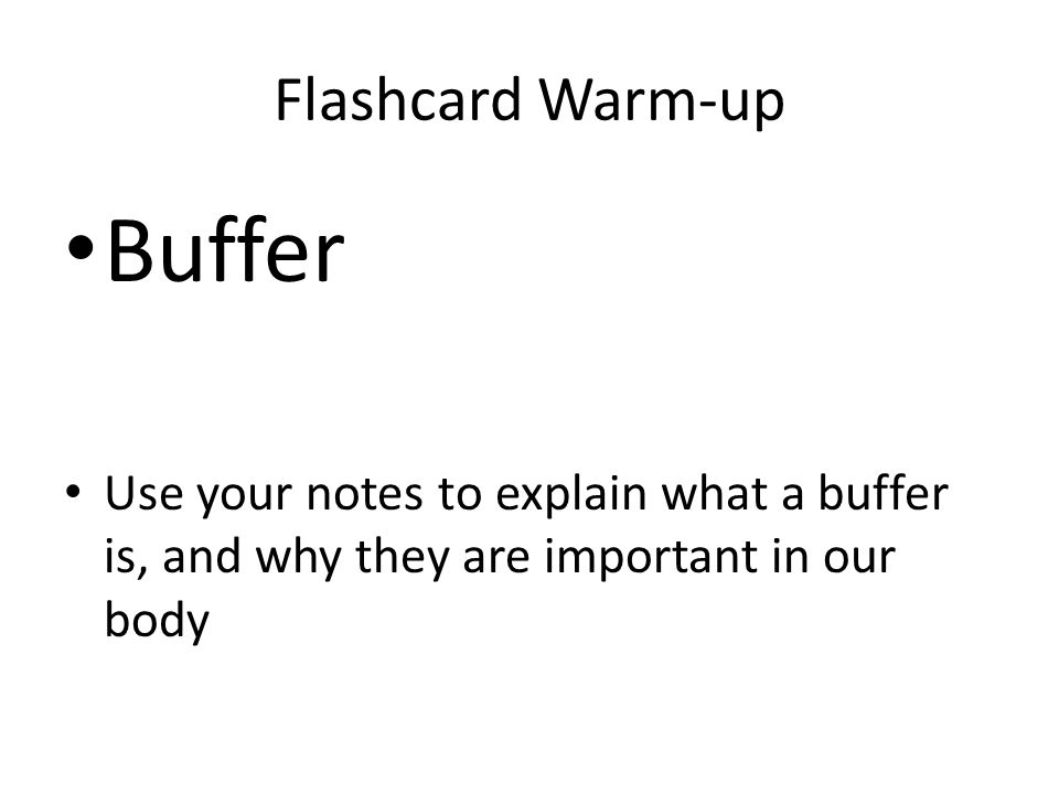 Flashcard Warm-up Use chapter 2 in your book Organic Molecules – Structure and function Carbohydrates- Proteins- Lipids- Nucleic Acids-