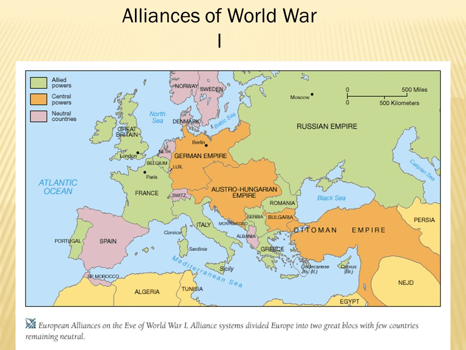  Most Europeans excited about war; thought it would end by Christmas 1914  War quickly turns into a stalemate  Western front w/ trench warfare (France)  Eastern front (Russia)  Southern front (Greece & Ottoman Empire)  War becomes war of attrition (who can wear out the other side)  New technology leads to massive casualty totals  Machine gun  Poisonous gas  Tanks  Airplanes  Artillery guns & shells  No major shifts of power between 1914-1917