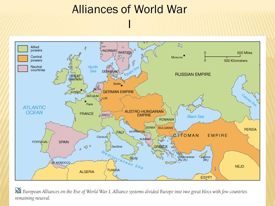 Alliances of World War I