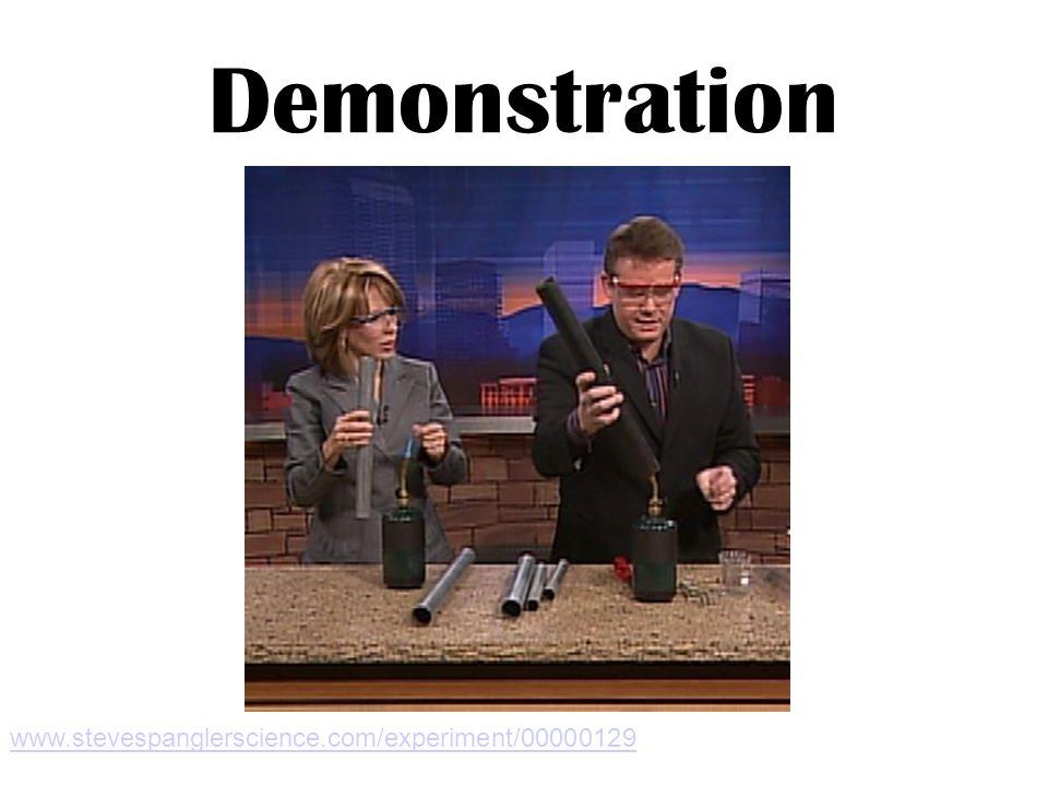 Demonstration www.stevespanglerscience.com/experiment/00000129
