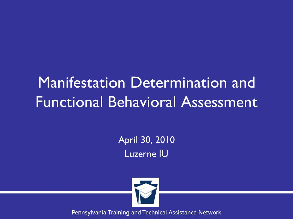 If Behavior Not a Manifestation Impose same penalty as applicable to student without disability –Same manner/duration Continue to provide appropriate services –In interim alternative educational setting (IAES).