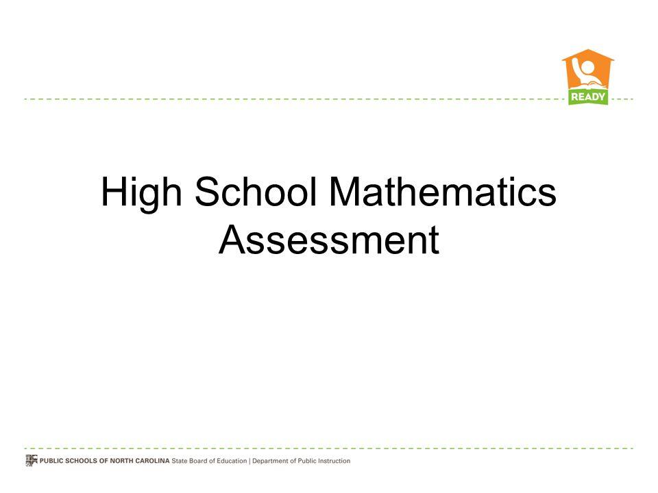 High School Mathematics Assessment