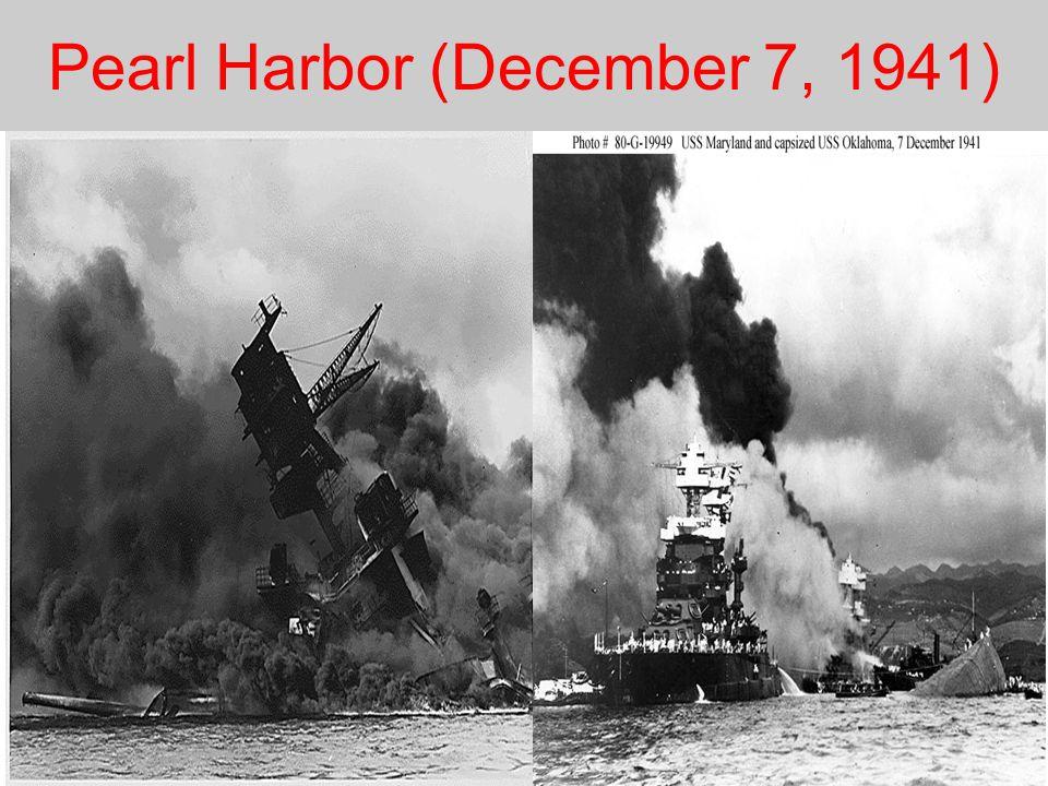Pearl Harbor (December 7, 1941)