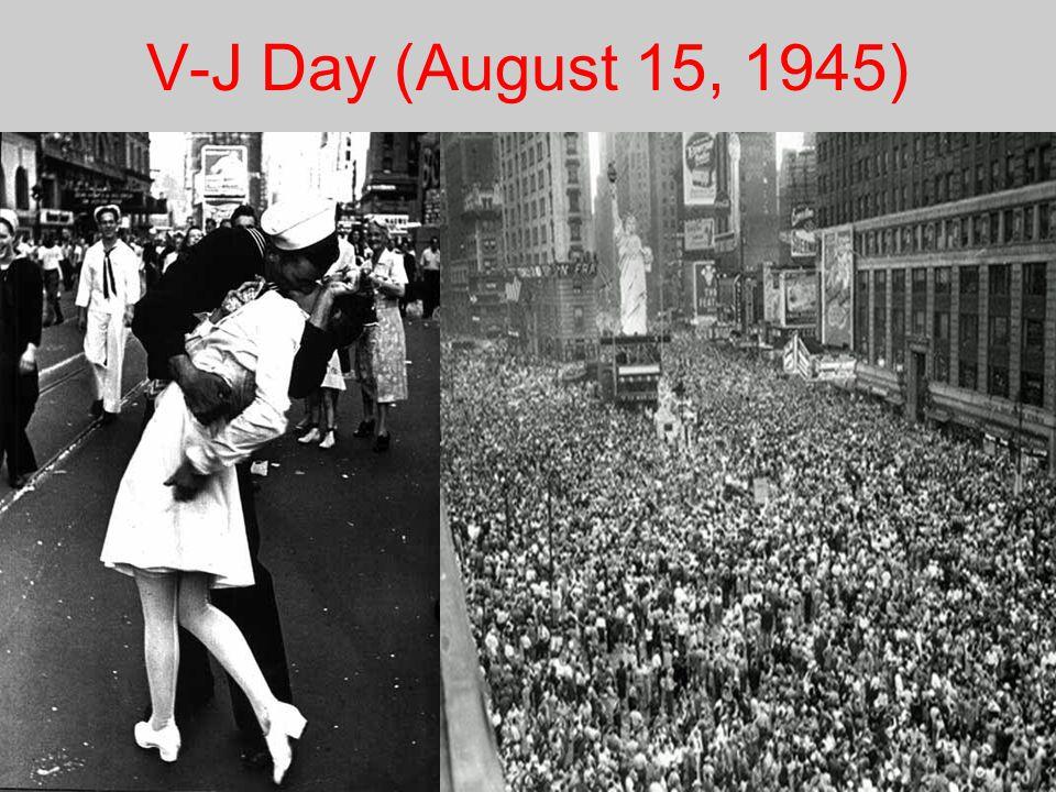V-J Day (August 15, 1945)