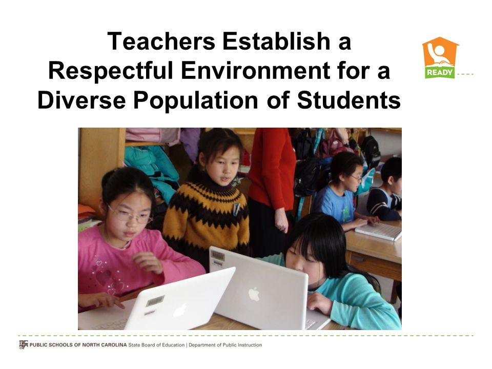 Teachers Establish a Respectful Environment for a Diverse Population of Students