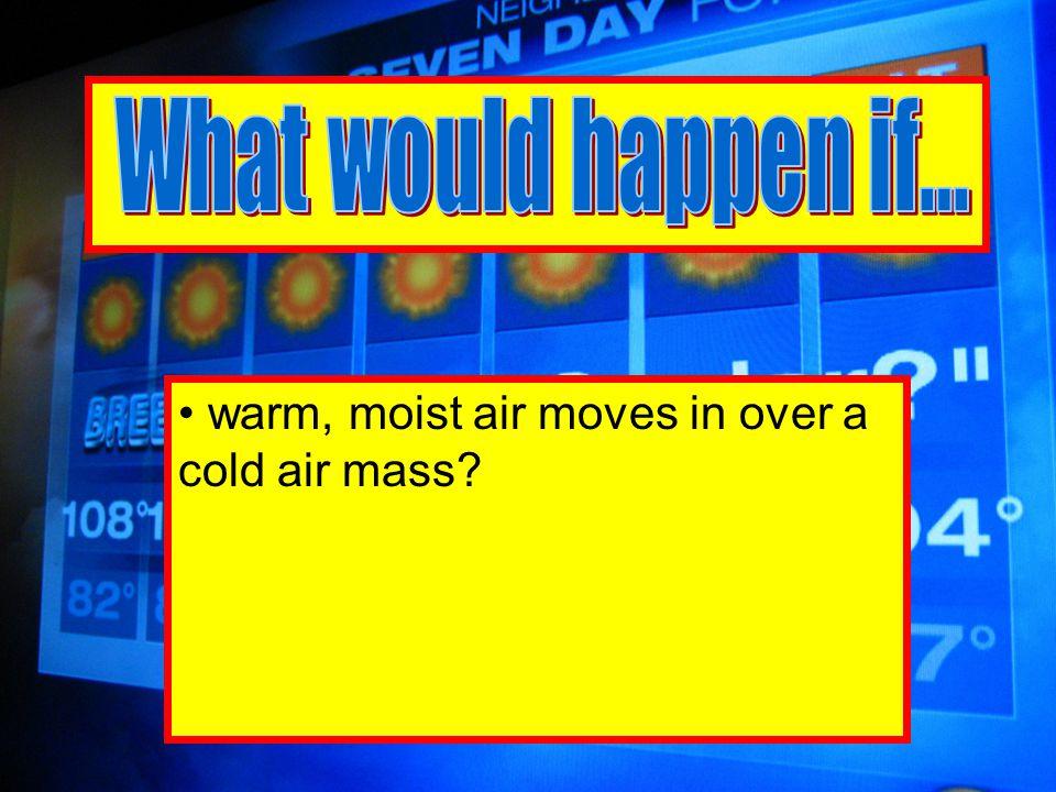 frozen precipitation fell through a large mass of warmer than freezing air Then fell through a small mass of freezing air?