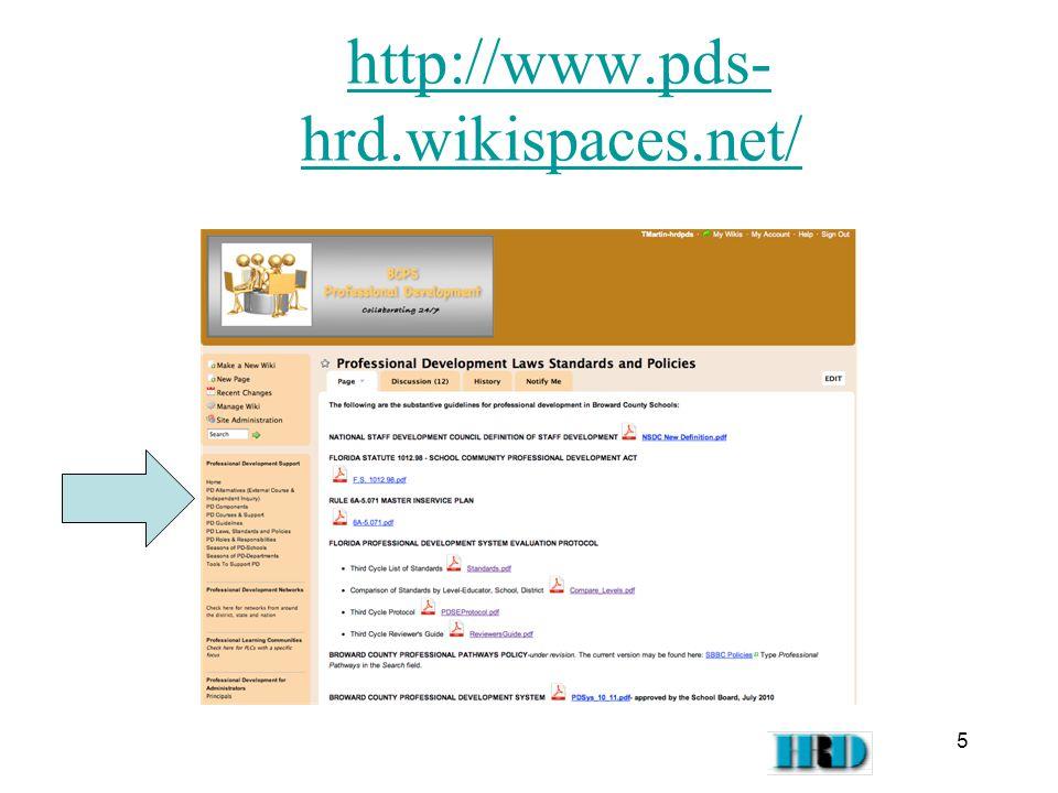 http://www.pds- hrd.wikispaces.net/http://www.pds- hrd.wikispaces.net/ 5