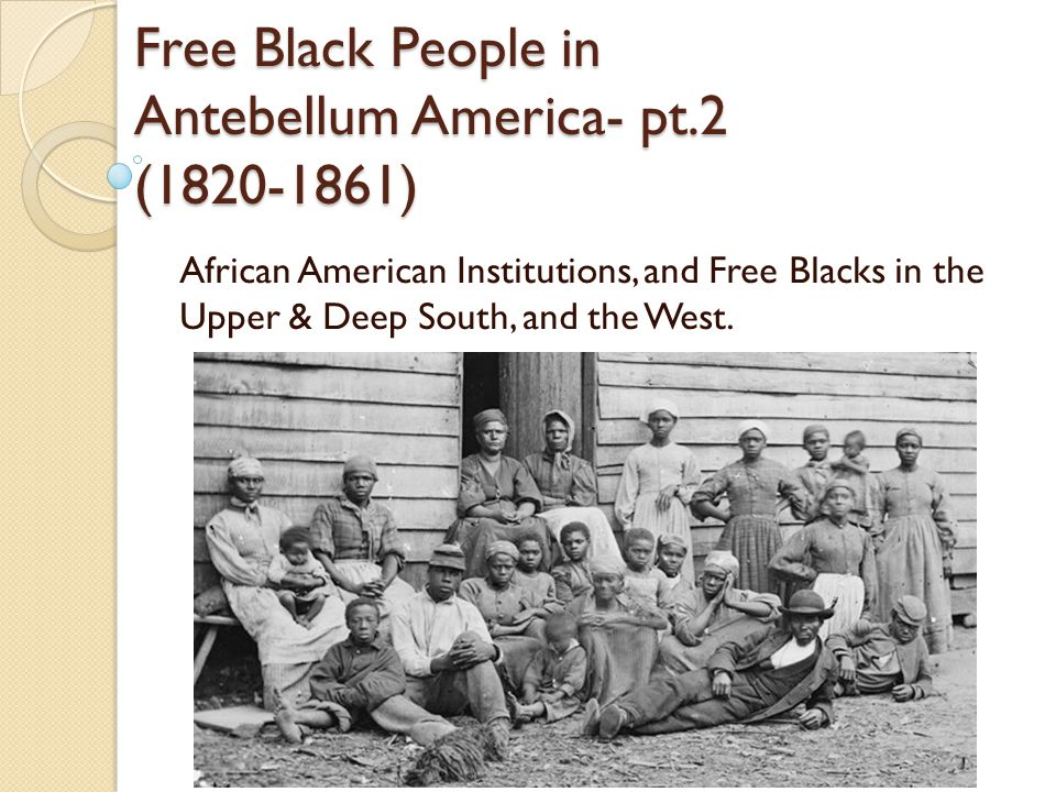 African American Institutions: Black Churches Black churches were community centers that housed a variety of organizations as well as schools.
