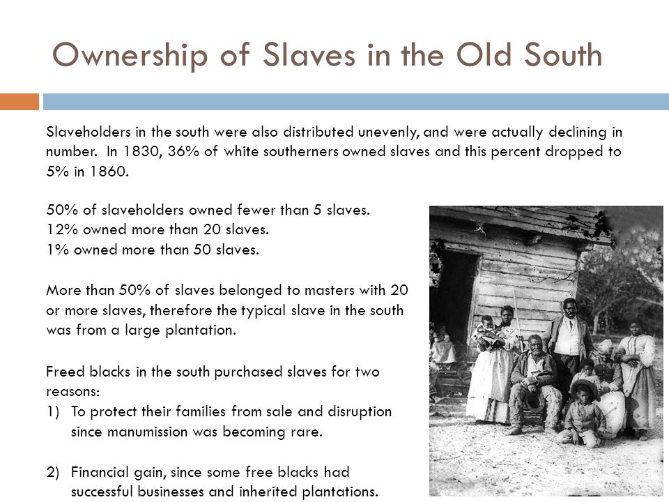 Slave Labor in Agriculture: Tobacco Tobacco was an important crop in VA, MA, KY, and parts of MO & NC during the 1800's.