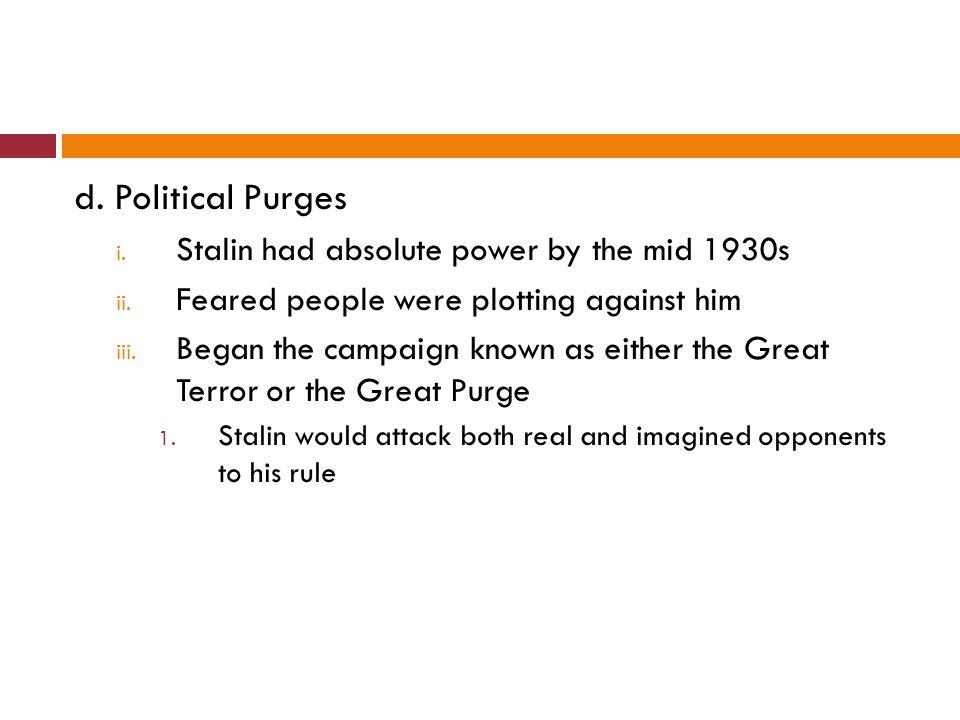 e.Totalitarian Rule i.