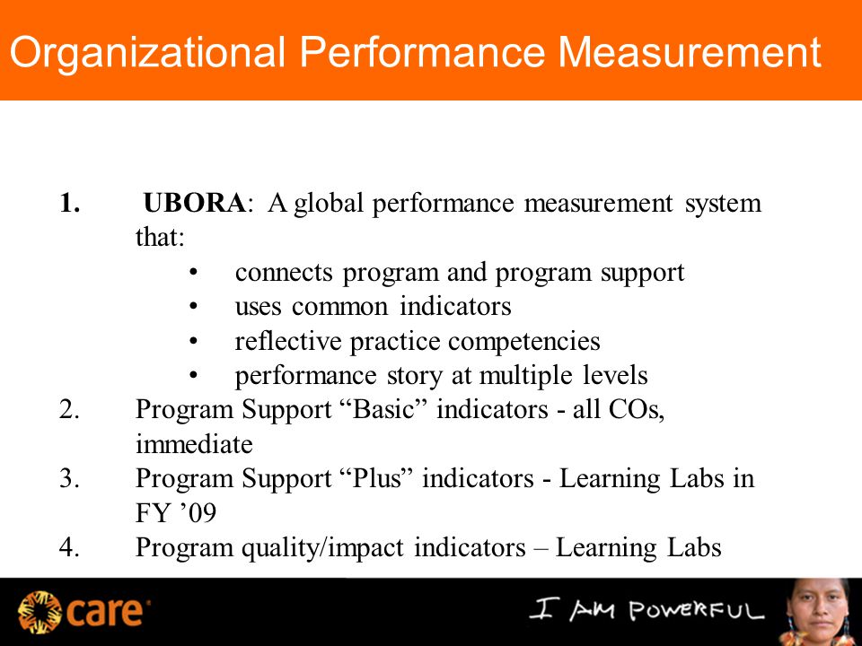 Organizational Performance Measurement 1.