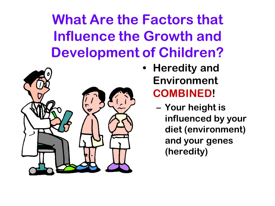 What Are the Factors that Influence the Growth and Development of Children.