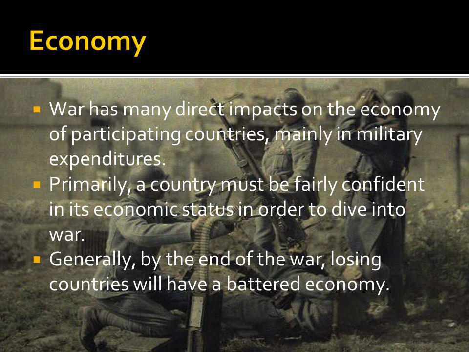  Germany had a thriving economy before and during WW1, and was excited to compete with the French and British economies, who were also growing.