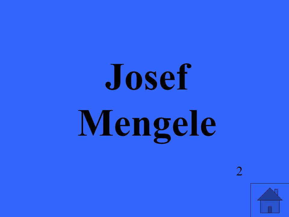 2 Josef Mengele