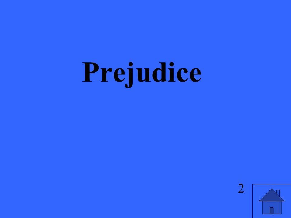Prejudice 2