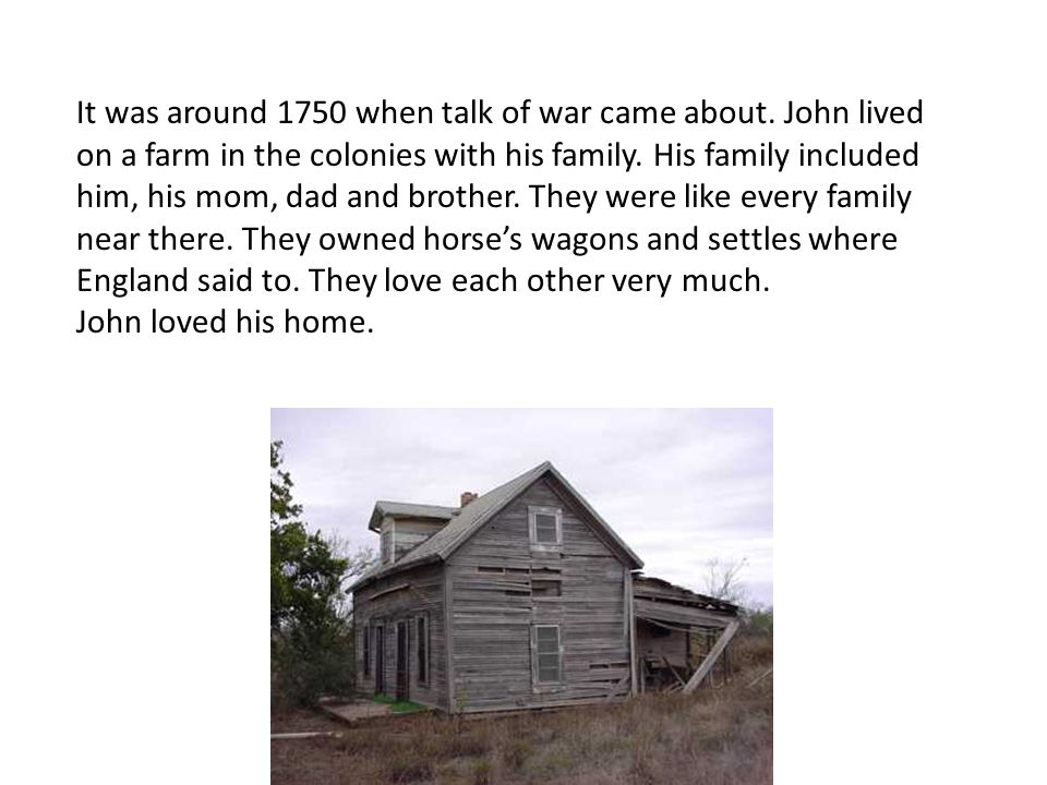 He worked hard in the fall to build a log cabin for his mom.