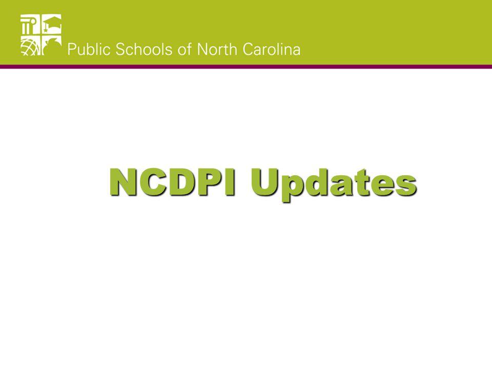 NCDPI Updates