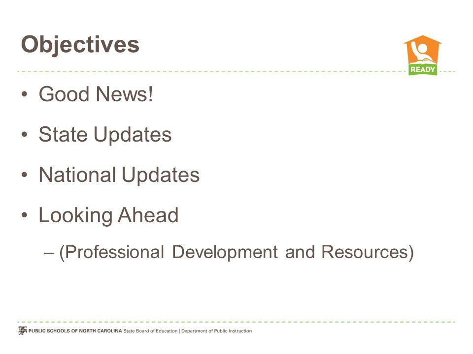 Objectives Good News.