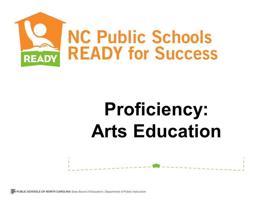 Proficiency: Arts Education