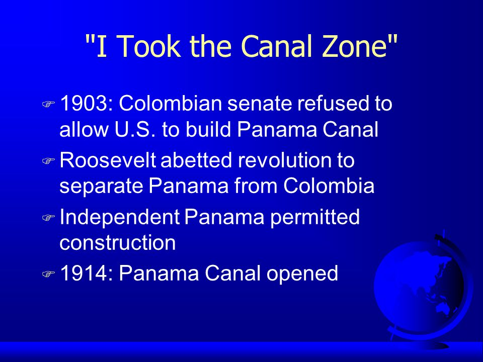 The Panama Canal Zone