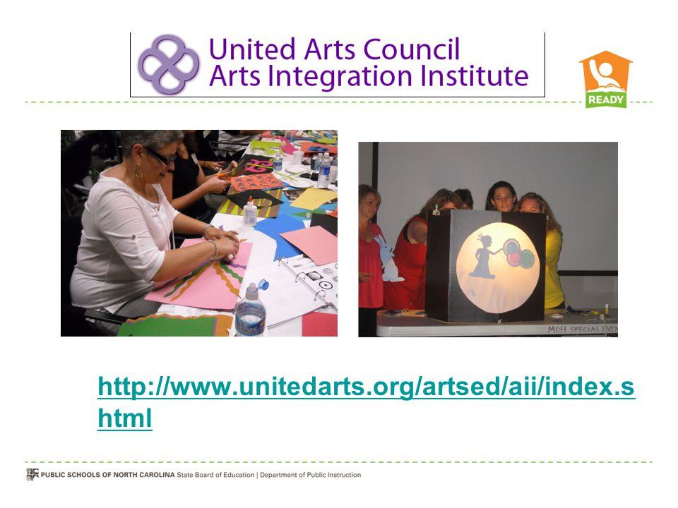 http://www.unitedarts.org/artsed/aii/index.s html
