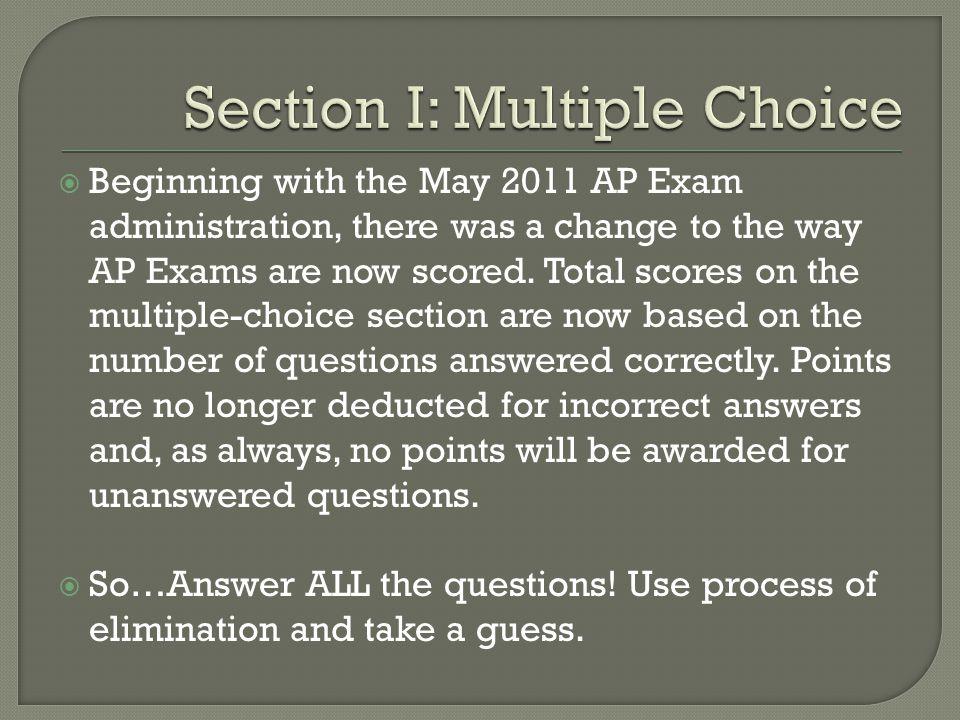  Exam Information Exam Information  Course Description (Page 1-48) Course Description