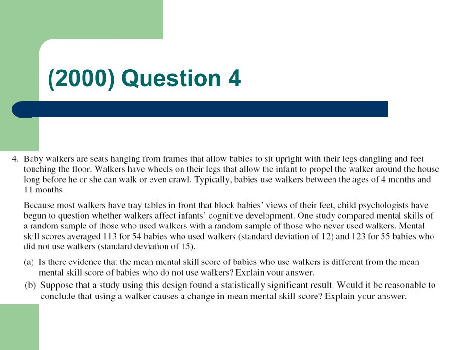 (2000) Question 4