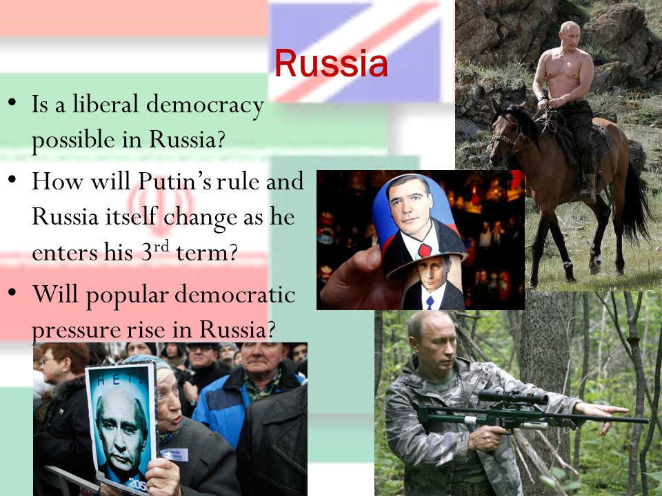 Russia Is a liberal democracy possible in Russia.