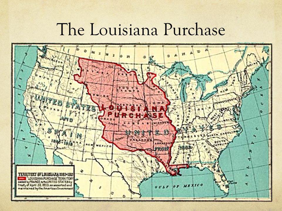 1800: Spain transfers control of the Louisiana territory to Napoleon Bonaparte 1803: Napoleon abandoned his ideas of an American empire Napoleon sent 35,000 troops to crush a slave rebellion in Haiti.