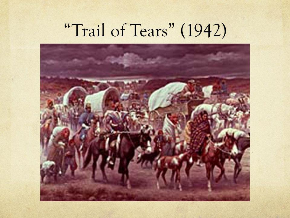 Trail of Tears (1942)