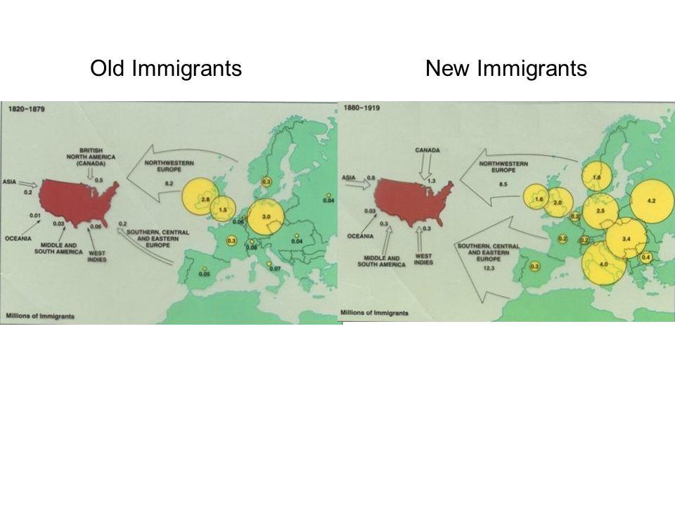 Old ImmigrantsNew Immigrants