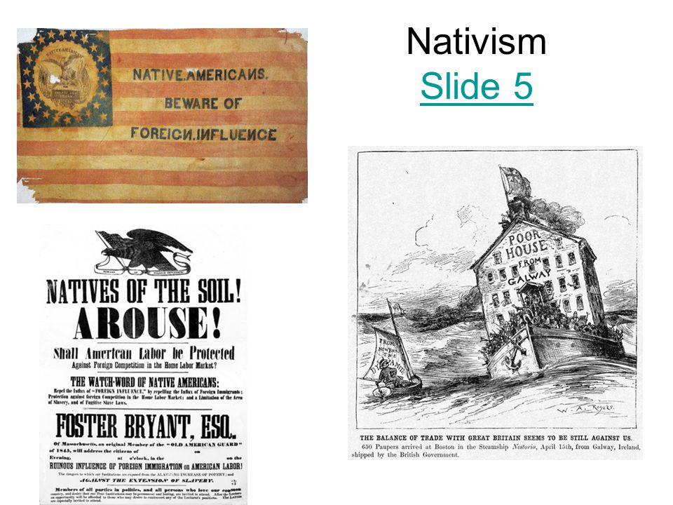 Nativism Slide 5 Slide 5