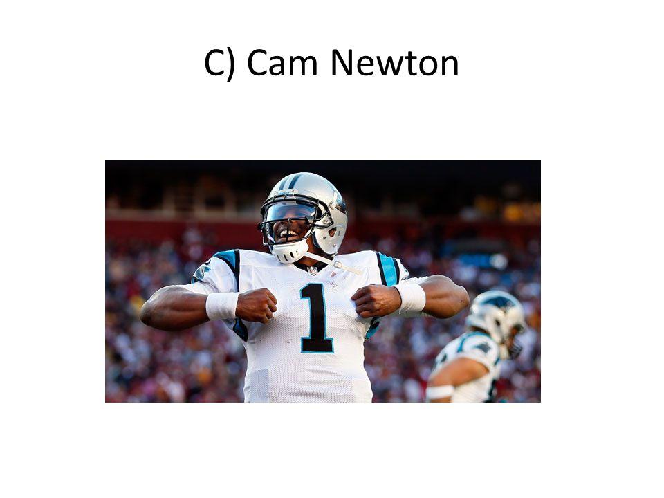 C) Cam Newton